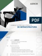 Aenor -Gerencia y Supervision de Proyectos de Infraestructura