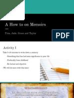 memoirs  1