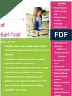 self talk flyer