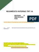 Regimento Interno TRT14 - Destacado