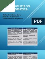 Bronquiolitis vs Crisis Asmática