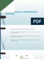 Regulacion de La Temperatura Corporal