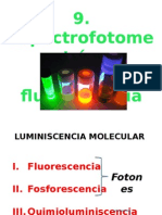 9. Fluorometría
