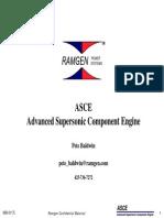 Lawlor Advanced Supersonic Component Engine