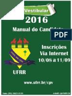 UFRR Manual Vestibular 2016
