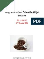 2015 - Programmation Orientée Objet en Java