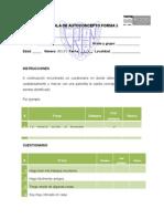 Instrumento - Escala de Autoconcepto Forma 5