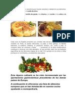 La Alimentacion en España