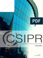 CSIPR E-Newsletter Issue 1