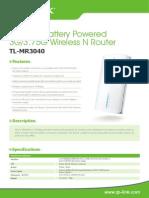 TL MR3040 Datasheet
