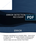 Error Detection _ Recovery