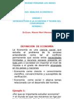 ANALISIS ECONOMICO 1
