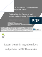 Recent Trends in Migration Flows and Policies in OECD countries