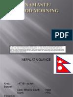 Country Presentation - Nepal