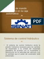 Sistema de Mando Hidráulico en La Caja Automática