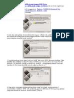 Cara Install Windows 7 Di Macbook Dengan USB Drive