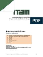 Ejercicios Estructuras de Datos