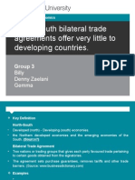 Trade Policy Goup 3 Presentation Slide