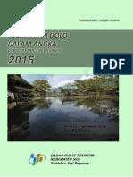 Kecamatan Dolo Dalam Angka 2015