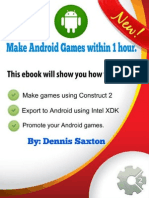 (Dex7111) Make Android Games Within 1 Hour