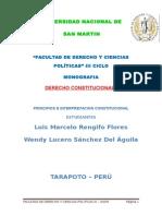 Monografia de Constitucional