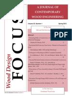 Wood Design - 2013 Spring Issue