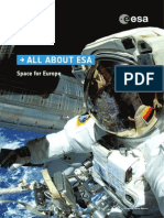 All About ESA Space Fro Europe