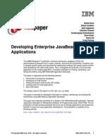 Developing Enterprise JavaBeans