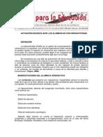 Actuacion Docente Ante TDHA