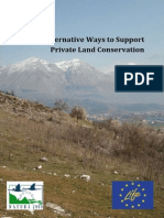 Report on Supporting Private Land Conservation