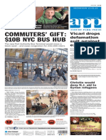 Asbury Park Press front page Wednesday, Dec. 2 2015