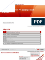 03-HUAWEI Microwave Pre-sales Specialist Training V1.0