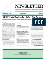 Medication Safety Report