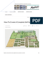 How to Create a Complete Self-Sustaining Homestead on 1-Acre of Land