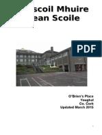 plean scoile bunscoil update nov 15