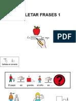 Completar Frases con pictogramas