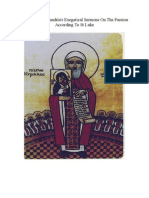 St Cyril Of Alexandria's Exegetical Sermons On The Passion According To Luke