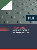 Tactile Surface Warning Plates Baum