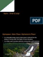Hydropower Basics