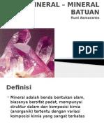 Mineral Batuan