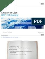 GDF v3.0 a History of Lean 20100430