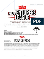 DDEX 3-8 the Malady of Elventree- 5-10