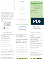 III Congreso de Seguridad, Justicia y Sistema Penal