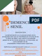 Demencia senil de JSGM