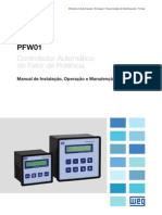 WEG Pfw01 Manual Controlador Automatico
