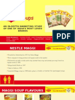 Maggi Soups - Marketing PPT - Division C - Group 2(1)