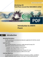 Fluent-Intro 15.0 WS04 Airfoil