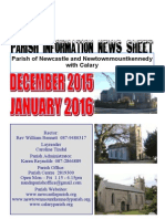Newcastle, Calary & Newtown Parish Information, December 2015 & January 2016