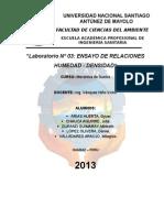 Laboratorio N_ 03 - Ensayo de Relaciones Humedad - Densidad (1)