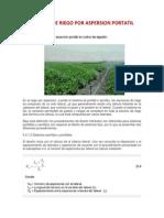 Manual de Riego Por Aspersion Portatil